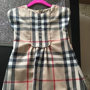 Burberry Toddler Dress. Size 3Y.